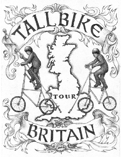 Tall Bike Tour Emblem